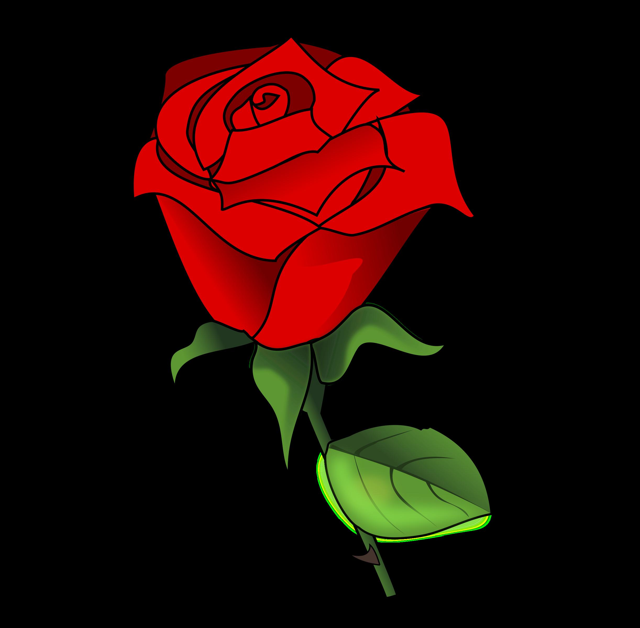 Garden rose clipart - Clipground