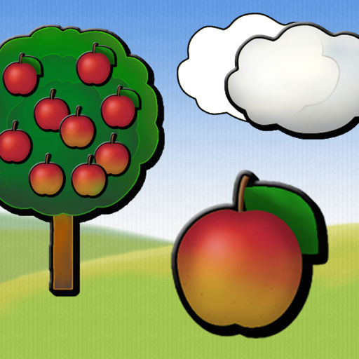 Animated Garden Shape Puzzles for Kids and SuperKids.