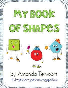 My Shape Book {All About 2D Shapes}.