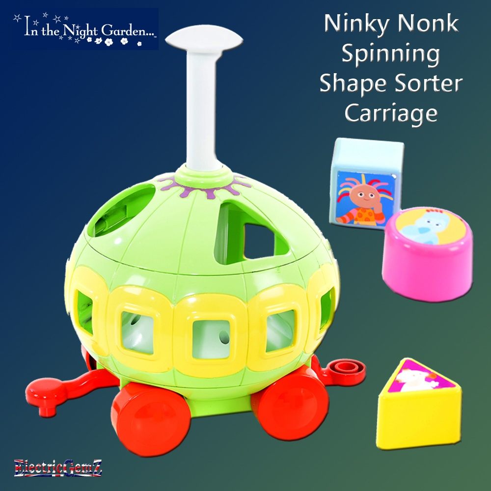 the Night Garden Spinning Shape Sorter Carriage.