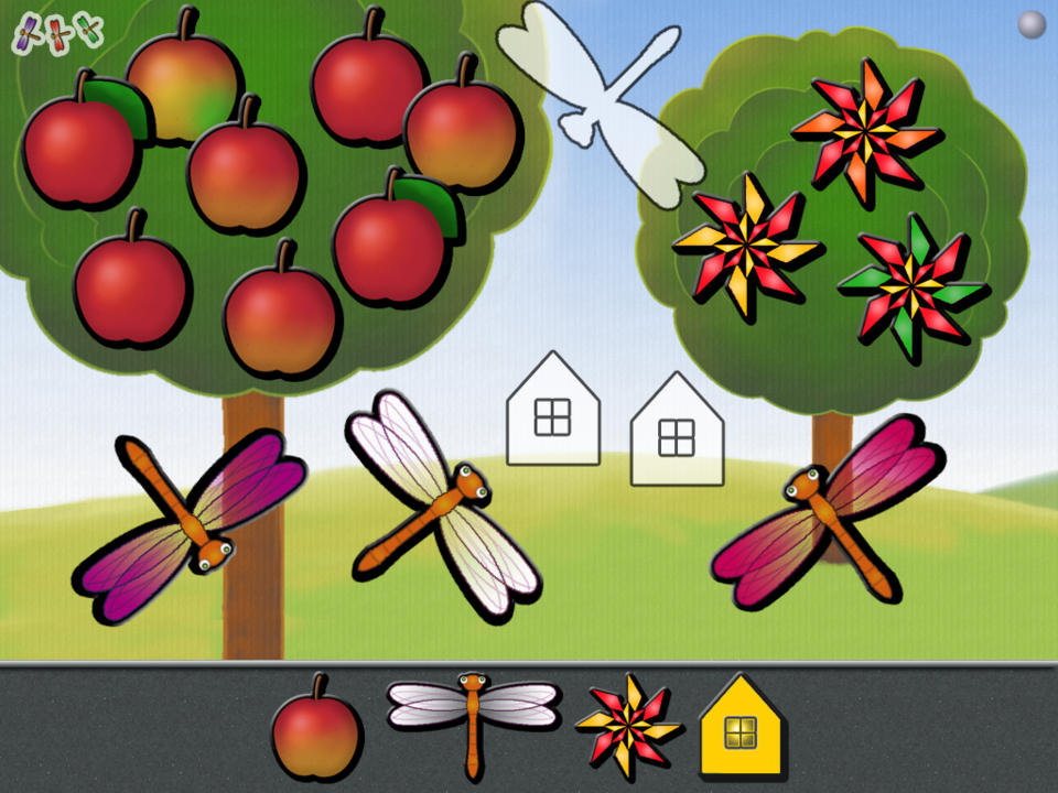 Animated Garden Shape Puzzles for Kids (iPad) reviews at iPad.
