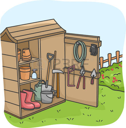 218 Garden Shed Stock Vector Illustration And Royalty Free Garden.