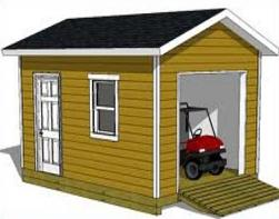 Storage building clipart.