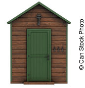 Sheds clipart #7