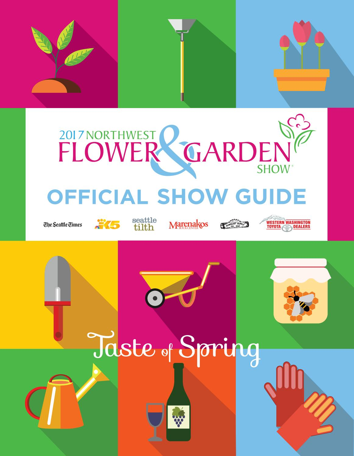 2016 Northwest Flower & Garden Show.
