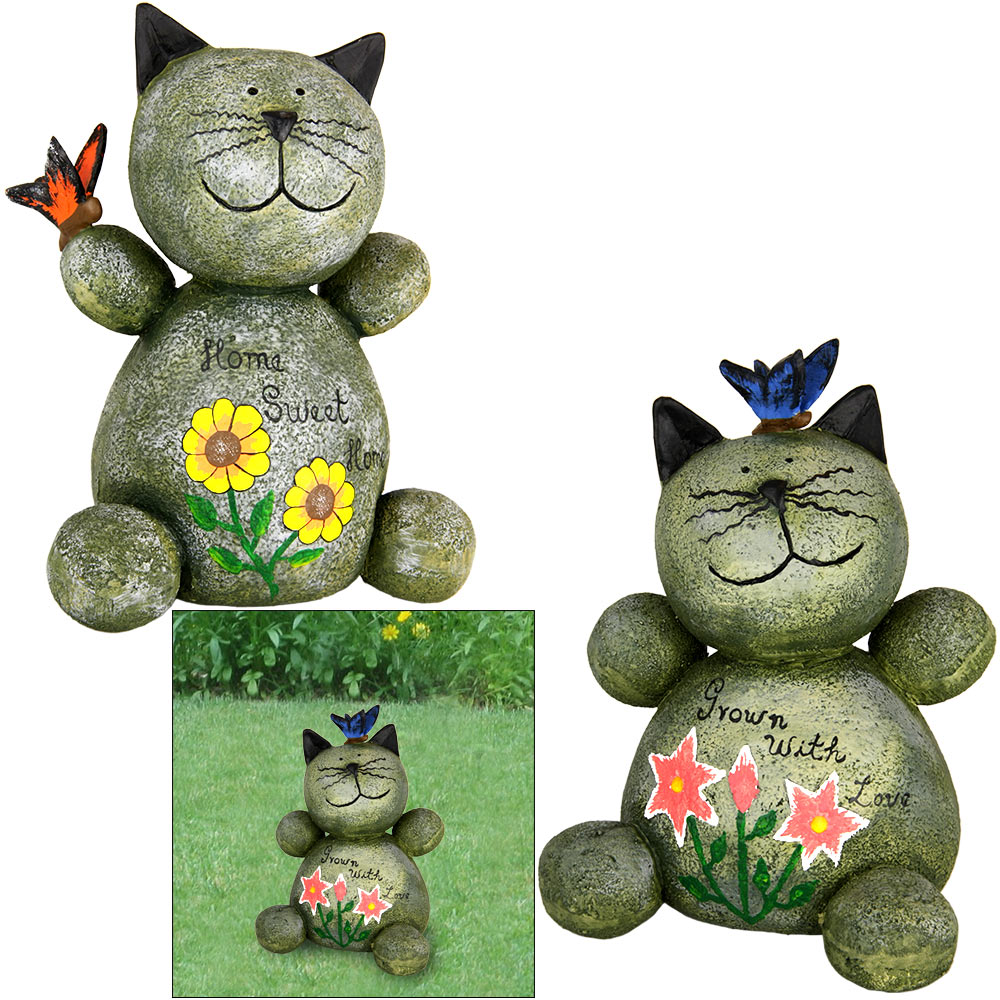 1000+ images about Cat & Other Garden Statues on Pinterest.