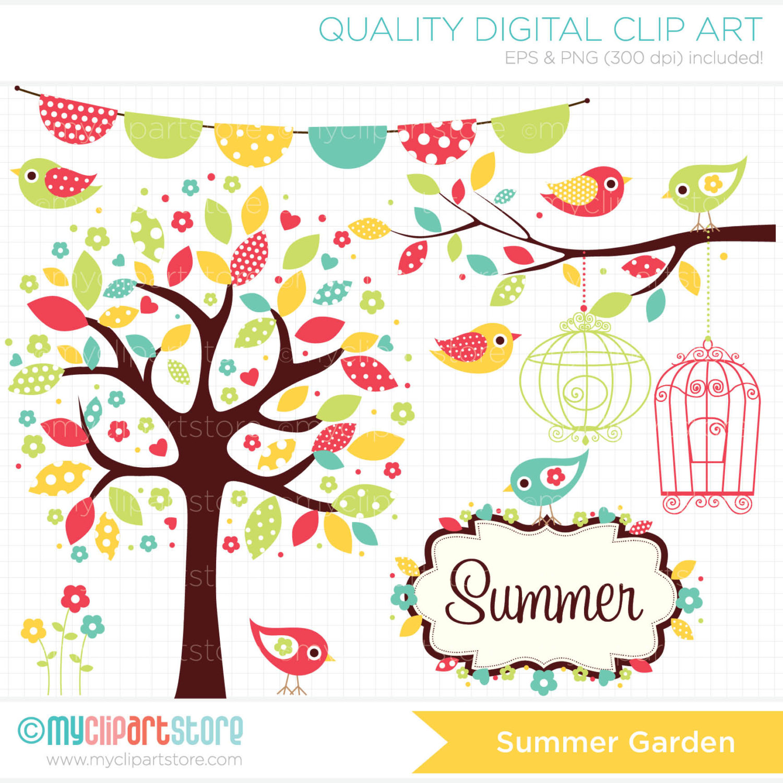 Garden summer clipart #12