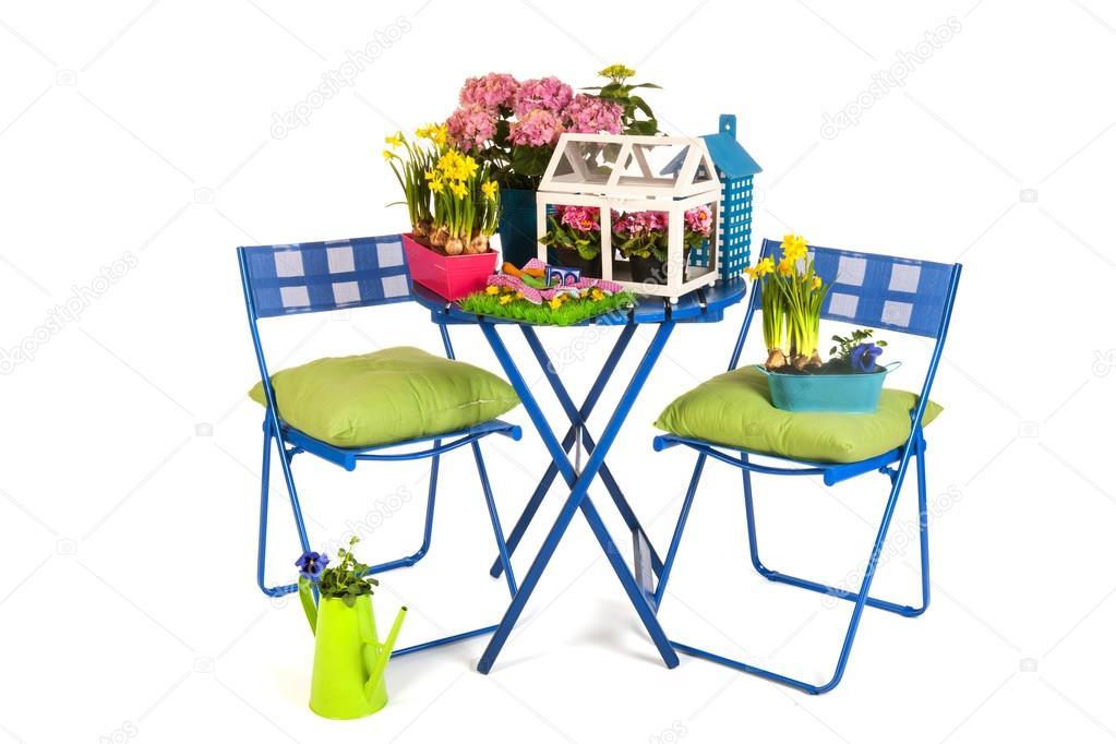 Garden terrace — Stock Photo © ivonnewierink #13472203.