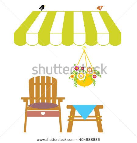 Garden Furniture Stock Photos, Royalty.
