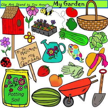 Clip Art My Garden.