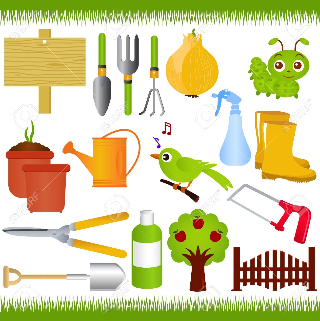 Garden tools clipart clipground for Gardening tools clipart