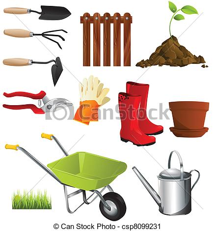 Garden tools Clipart and Stock Illustrations. 10,963 Garden tools.