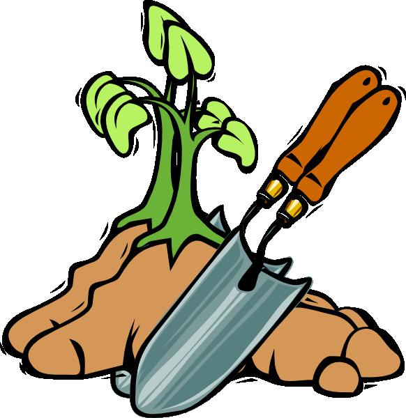 Gardening Shovel Clip Art.