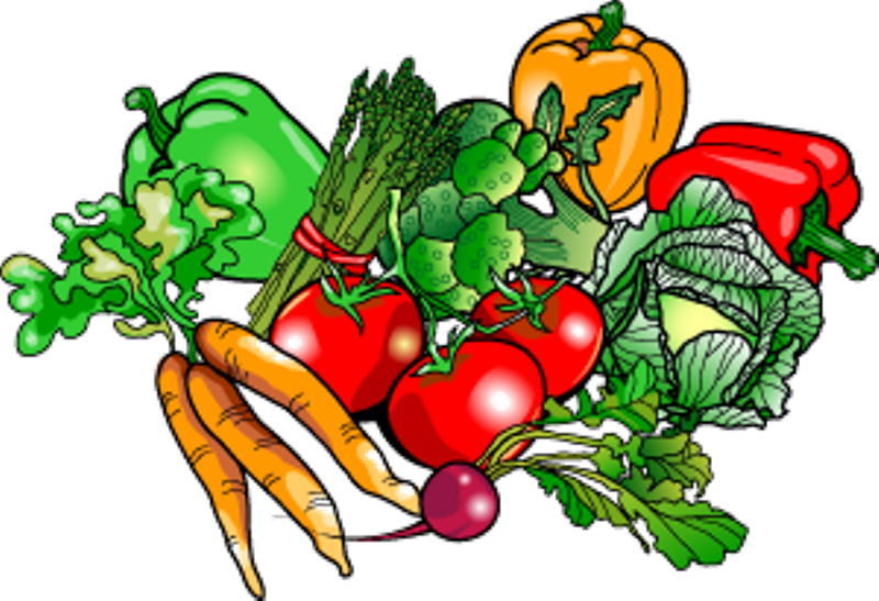 Clipart Garden Vegetables.