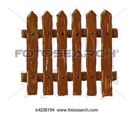 Stock Illustration of fence k3529326.