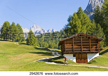Stock Images of Val Gardena, Italy 2942676.