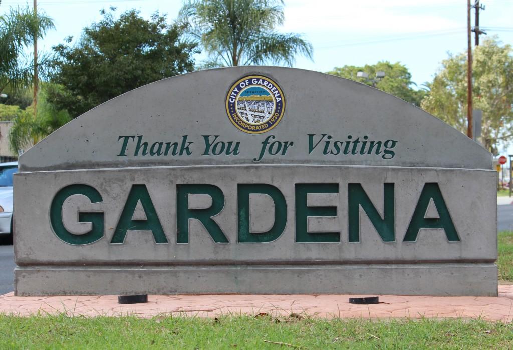 Clip Art City of Gardena.