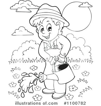 Gardening clipart black and white 4 » Clipart Station.