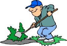 Gardening Clipart Graphics.