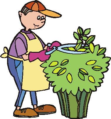 Gardening clip art.