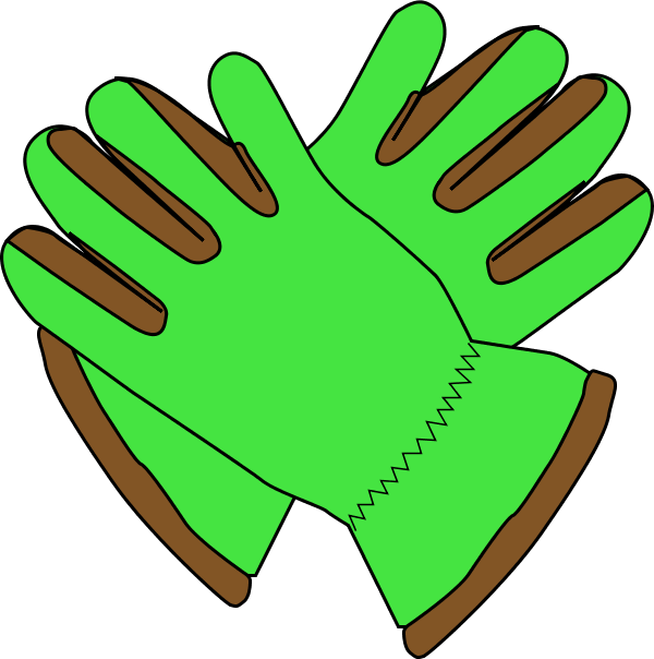 Garden Gloves Clipart.