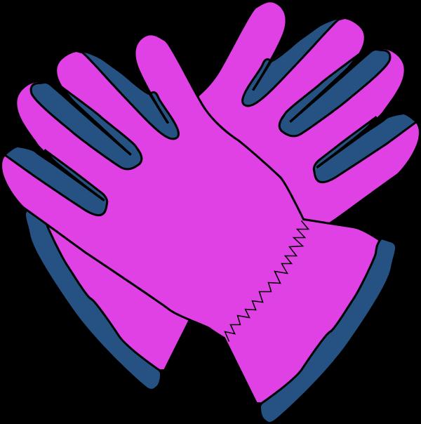 Garden glove clipart.