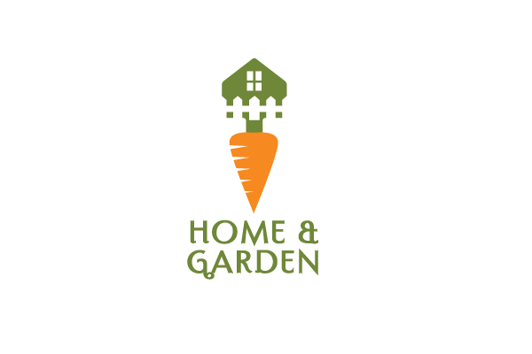 Home and Garden Logo Design.