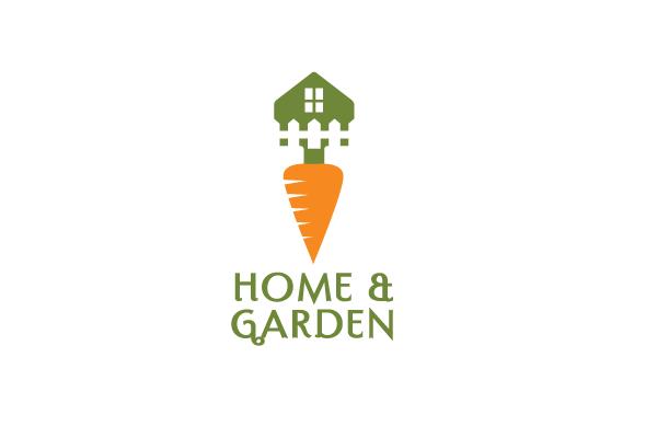 Home and Garden Logo Design.