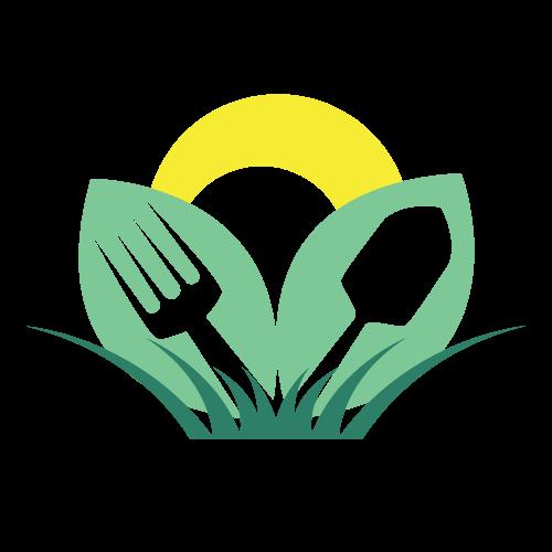 Gardening Tools Landscape Logo.