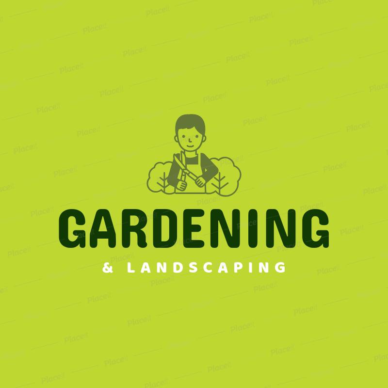 Landscaping Logo Maker a1166.
