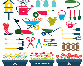 Gardening tools and equipment clipart » Clipart Station.