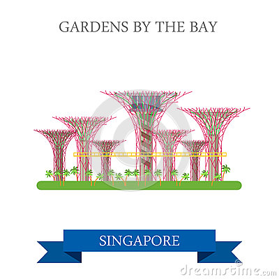 Gardens Bay 2c Sinapore Stock Illustrations, Vectors, & Clipart.