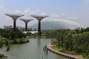 Singapore's New Icon Gardens by the Bay.