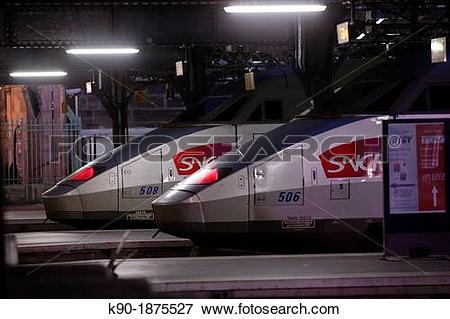 Picture of Gare de l?Est, Paris, Ile de France, France, Europe k90.