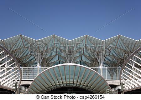 Stock Photo of Gare do Oriente.