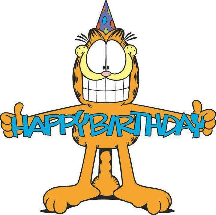 Garfield Birthday wish...
