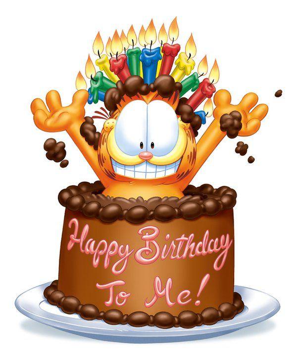Happy Birthday Garfield !.