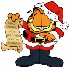 23 Best Garfield Xmas images in 2013.