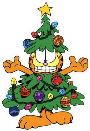 Garfield christmas clipart 4 » Clipart Portal.