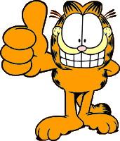 Garfield Clip Art.