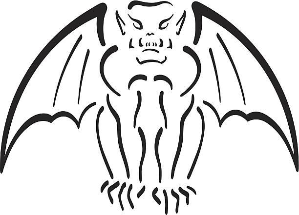 Best Gargoyle Illustrations, Royalty.