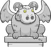 Gargoyle Clipart EPS Images. 109 gargoyle clip art vector.