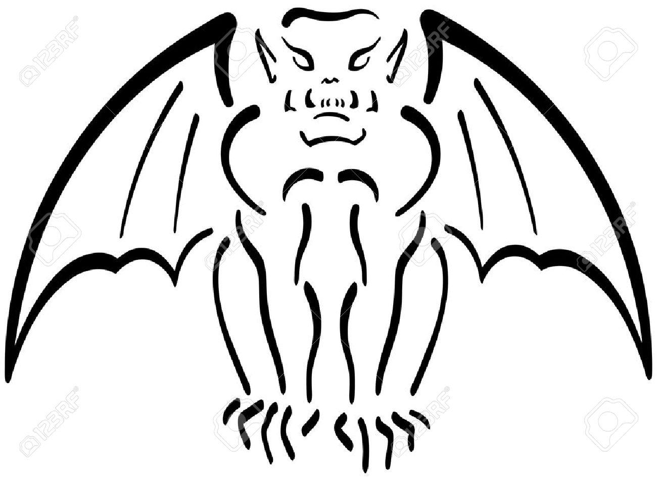 Gargoyle Clip Art.