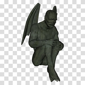 Gargoyles transparent background PNG cliparts free download.