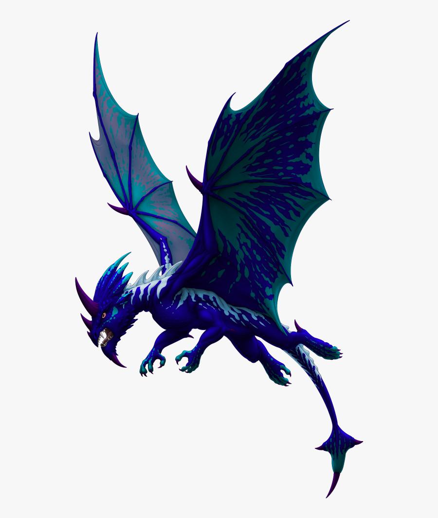 Dragon Gargoyle Legendary Creature Purple.