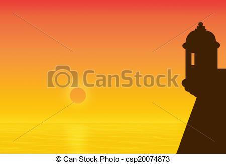 Garita Clipart and Stock Illustrations. 2 Garita vector EPS.