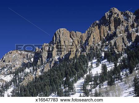 Stock Photo of La Garita Mountains x16547783.