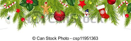 Christmas Garland Clipart.Garland Christmas Clipart 20 Free Cliparts Download Images