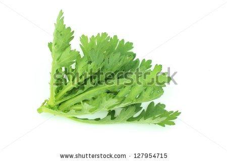 Garland Chrysanthemum Stock Images, Royalty.