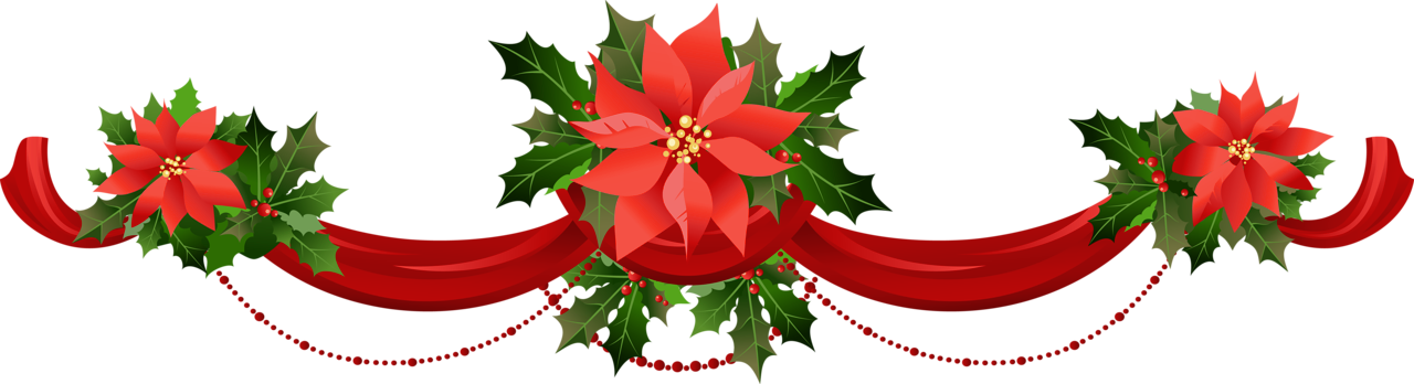 Christmas garlands clipart free.